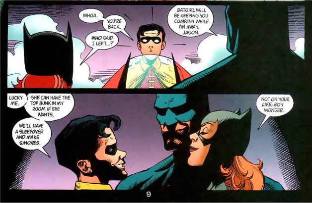 Jason Todd And Dick Grayson Jason Todd loose cannon
